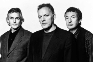 Richard Wright, David Gilmour, and Nick Mason circa 1994