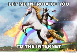 This only captures about 30% of the Internet's Awesome!