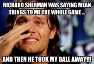 Brady Crying Meme