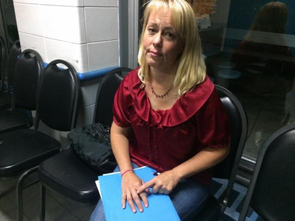 Denise Lauffer save's old dog