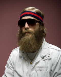 Epic Hipster Beard Portrait