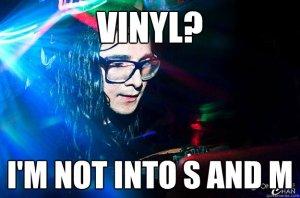 Hipster Vinyl Skrillex