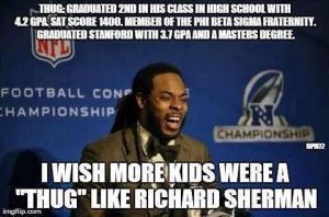 Sherman Thug Meme
