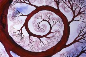 Sacred Spiral by Helen R. Klebesadel