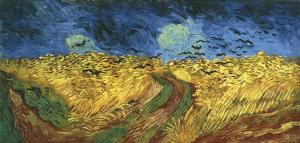 Vincent Van Gogh, Wheatfield with Crows