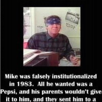 All Mike wanted was a Pepsi...